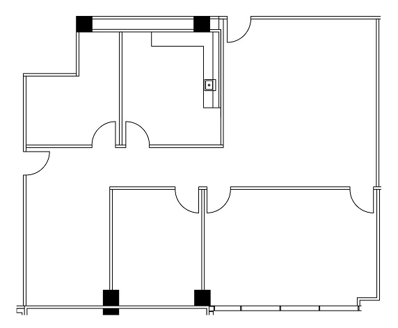 400 North Belt Floor Plan Image